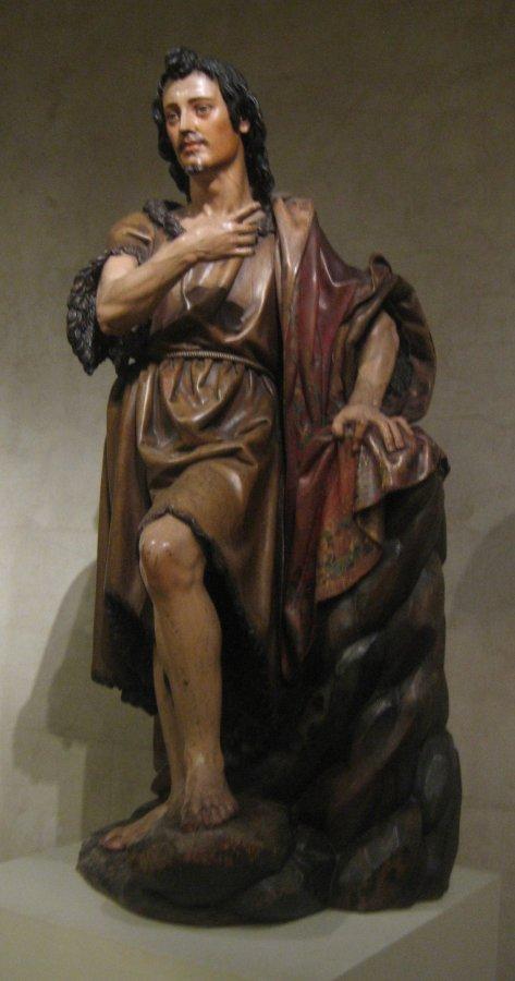 polychromie statue